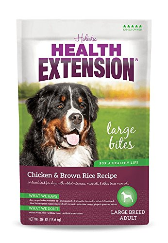 Holistic Health Extension - Chicken & Rice Large Breed Dry Dog Food