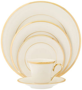 Lenox Eternal Gold-Banded Fine China 5-Piece Set  sc 1 st  All American Reviews & Best Dinnerware Made in the USA: 2018 - All American Reviews