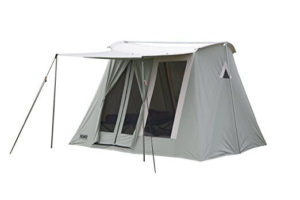 Springbar Highline 6 Person Canvas Tent 10u2032 x 10u2032  sc 1 st  All American Reviews & Best Tents Made in the USA: 2019 - All American Reviews